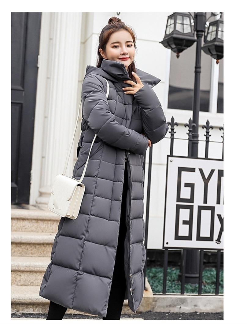winter jacket women long