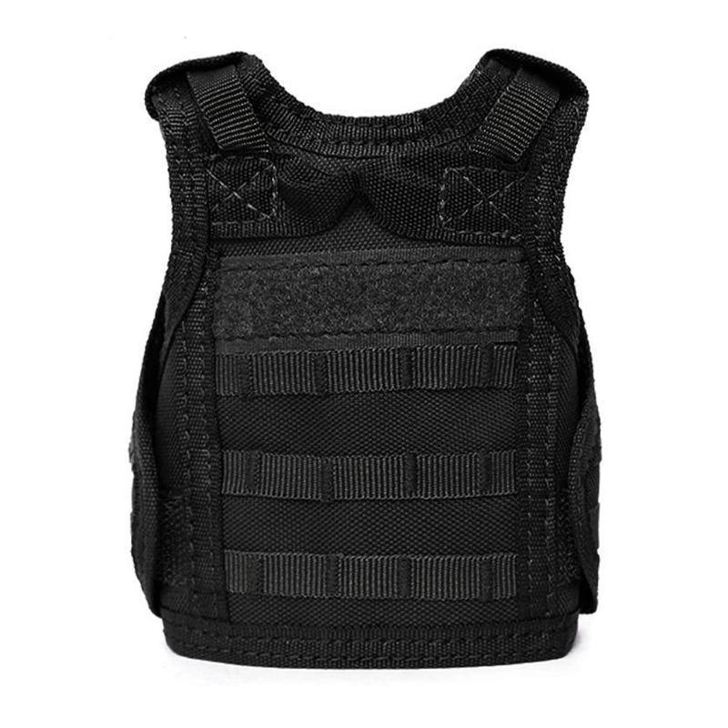 Tactical Premium Beer Military Molle Mini Miniature Hunting Vests Beverage Cooler Adjustable Shoulder Straps For Bottle Decor C19041501