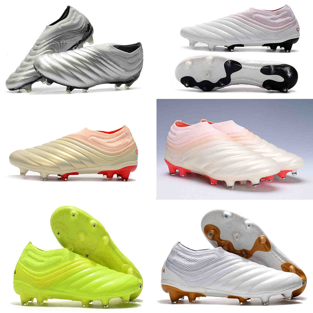 New Arrival Copa 20+ FG Mens Soccer Shoes 19 Black Mercurial Superfly Football Boots Boys Outdoor Sports Mundial Soccer Cleats Shoes