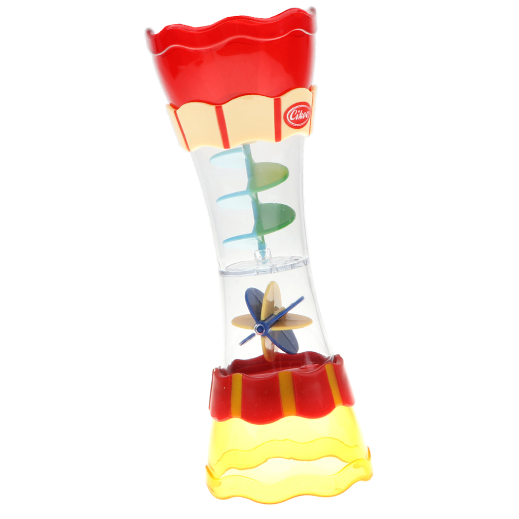 Baby Hourglass Style Water Whirly Wand Cup Waterwheel Toys Bath Water Swim Swimming Beach Developmental Game