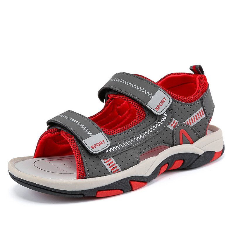 2020 Summer Boys Sandals Kid Sandals Children Shoes Cut-outs Rubber School Shoes Breathable Open Toe Casual Boy Sandal (6)