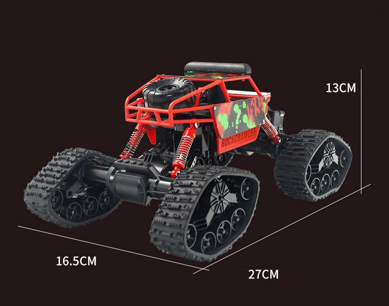 2020 Yy 2 4g Rc Crawler Type Snow Climbing Car 1 18