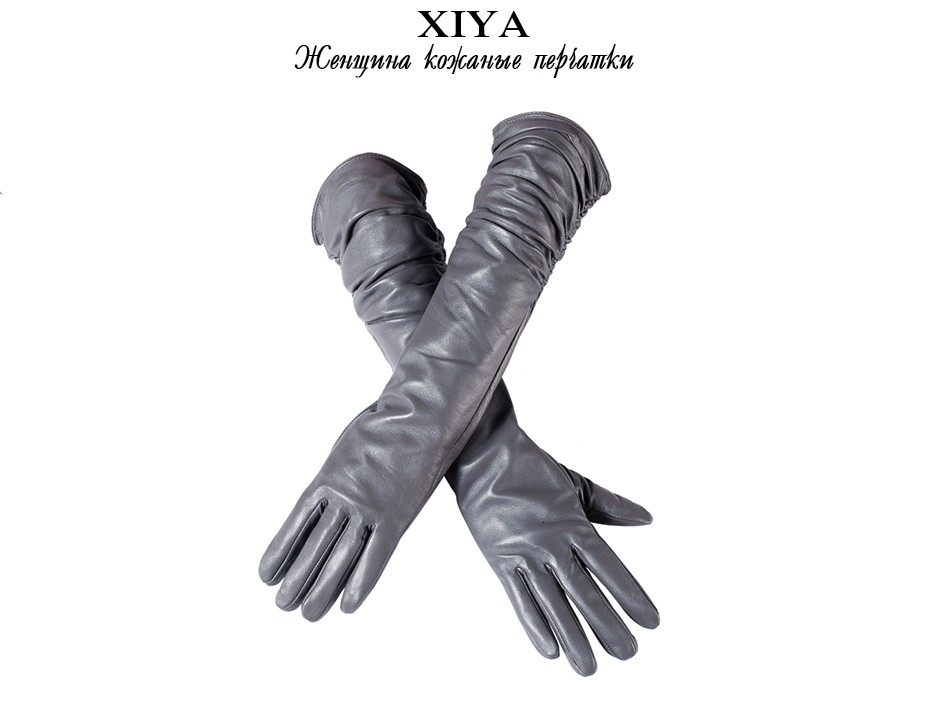 Driving women leather gloves