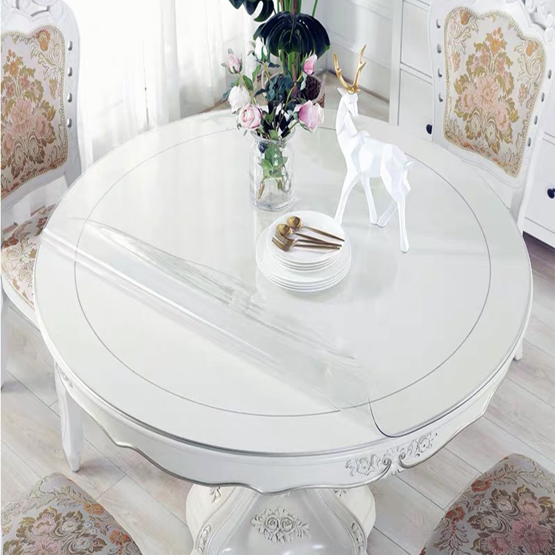 Balle 1 5mm Round Pvc Transparent Table Cover Tablecloth Protector