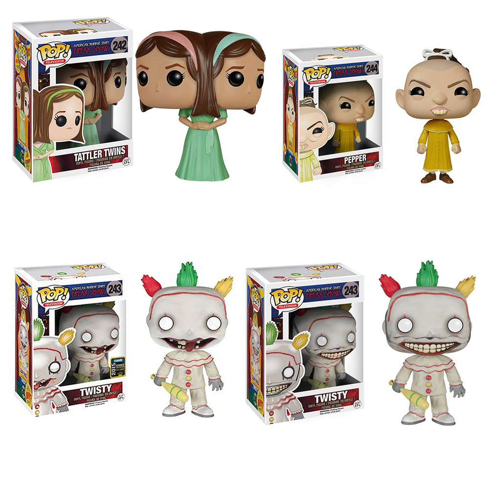 Figure with box Funko Pop Style Twisty 243 American Horror story