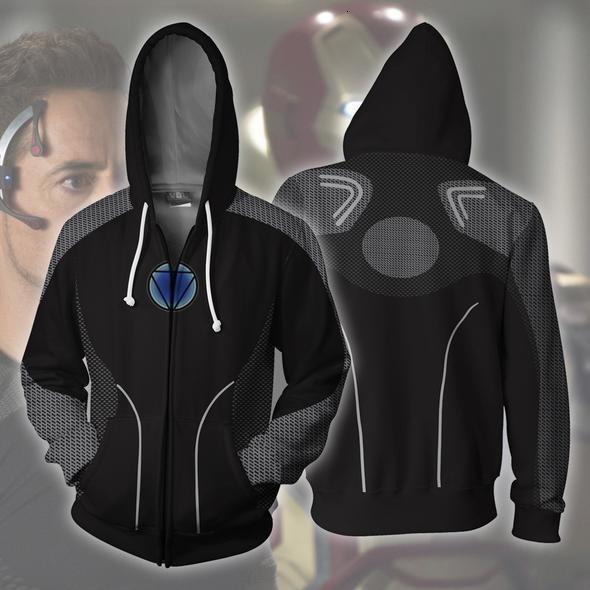 Вэй Человек рубашки стали Ся Поддержка Nistak 3d печати свитер косплей Comic Zipper Даже Hat Guard футболки