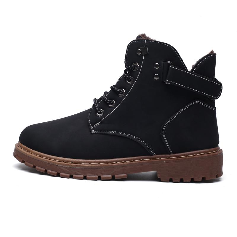 Inverno Super Quente Confortável Botas De Neve Dos Homens Sneakers Botas de Alta-top Não-slip Moda Masculina Sapatos Zapatillas De Deporte Homens Botas