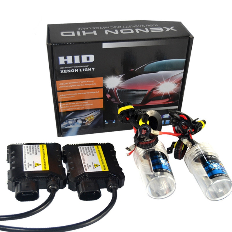 55W H7 H1 Xenon HID Conversion Replacement Headlight Slim Ballast 6000 8000K