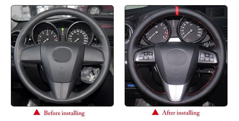 for Kia Forte steering wheel cover