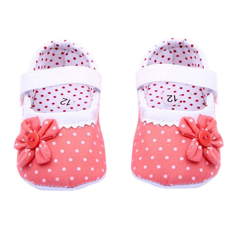 Summer Baby Girls Shoes Flower Soft Sole Cotton cloth Crib Shoes NDA84L17 (7)