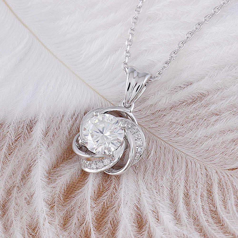 moissanite pendant silver (4)