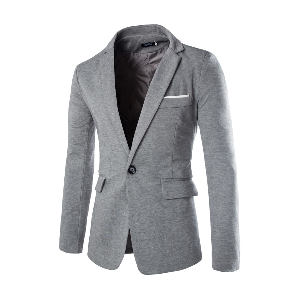 Spring Summer New Style British Style Fashion Men's Casual Suit Coat Casual Blazer Cotton Parka Men's Slim G2o3 T2190605