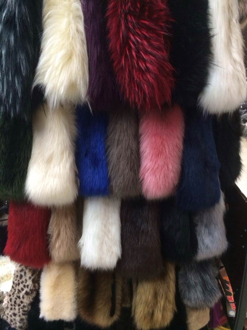colors of faux fur headband