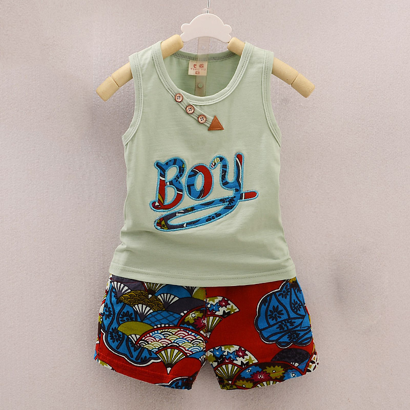 BibiCola-2017-Summer-Baby-Boy-Clothing-Set-Sleeveless-Top-Vest-Shorts-pants-Kid-Clothing-Sets-Children (6)