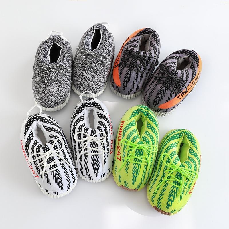 Men Slippers Winter Winter Warm Shoes Foam Sneakers Bread Fat Slippers Cute Slides Lover's Slides Slip On Fashion Winter Slipper