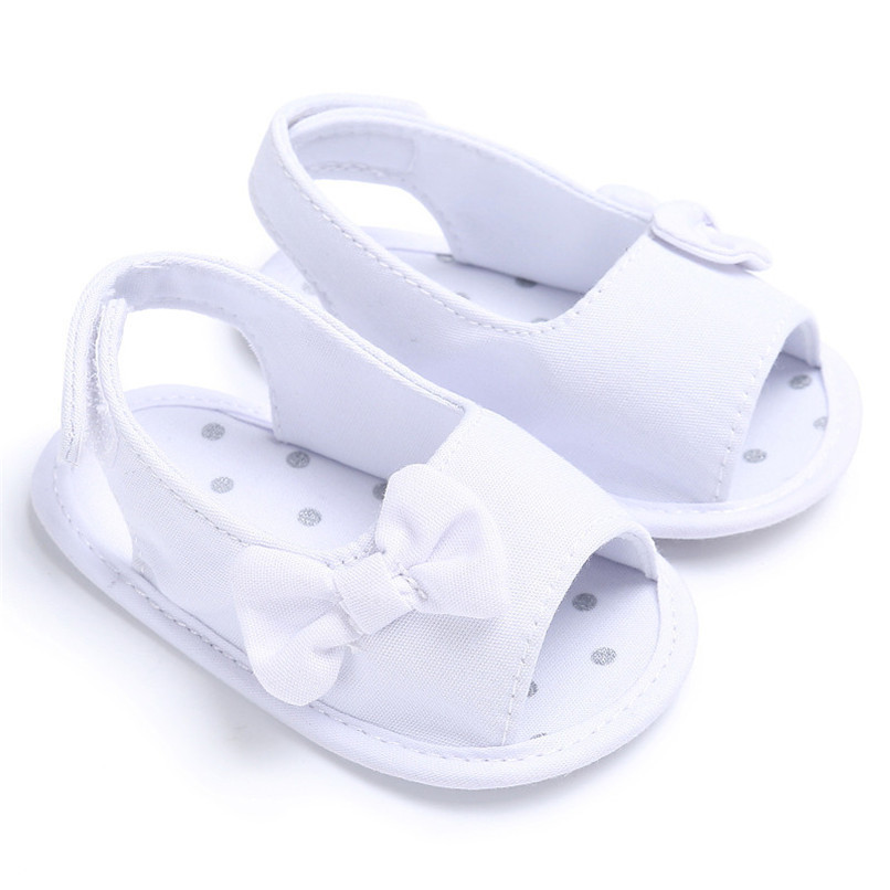Summer Baby Shoes Newborn Toddler Baby Girl Soft Sole Bowknot First Walker Crib Prewalker Shoes NDA84L24 (13)