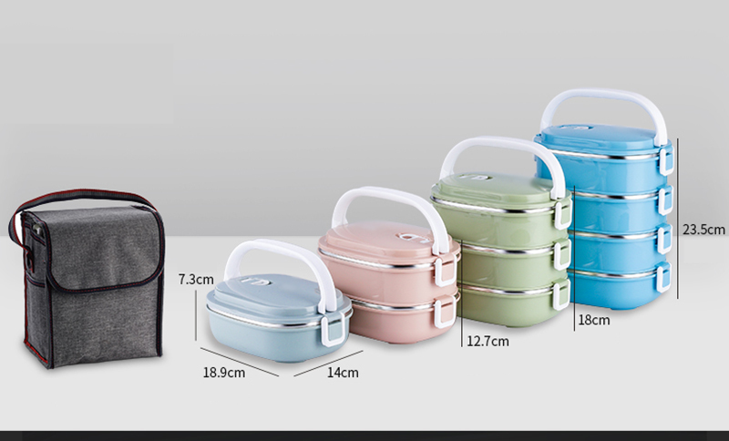 304 stainless steel insulated lunch box27