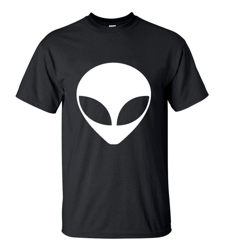 Alien T-Shirts New Arrival Personality Alien TShirt 2019Summer 100% Cotton O-neck High QualityStreetwearMen Top TeesS-3XL
