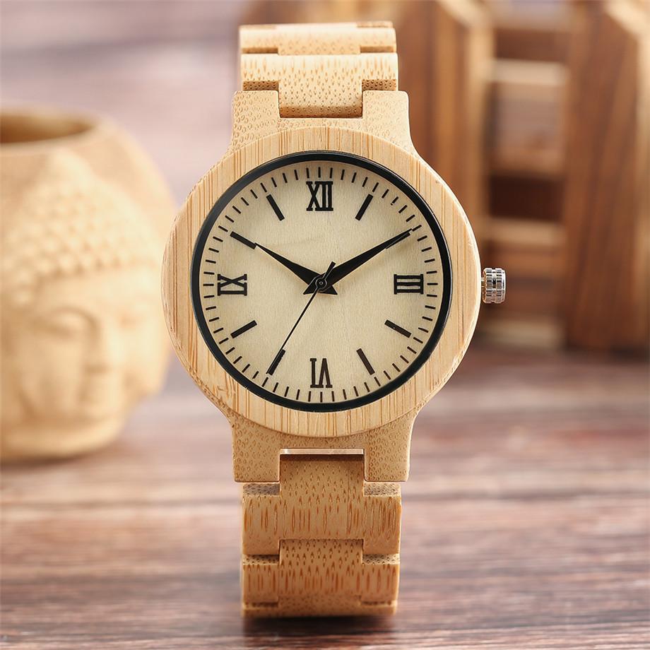 YISUYA Minimalist Full Wooden Watches Women Men Bamboo Wood Bracelet Fashion Creative Quartz Wristwatch Handmade Gifts Casual Clock Hour (21)