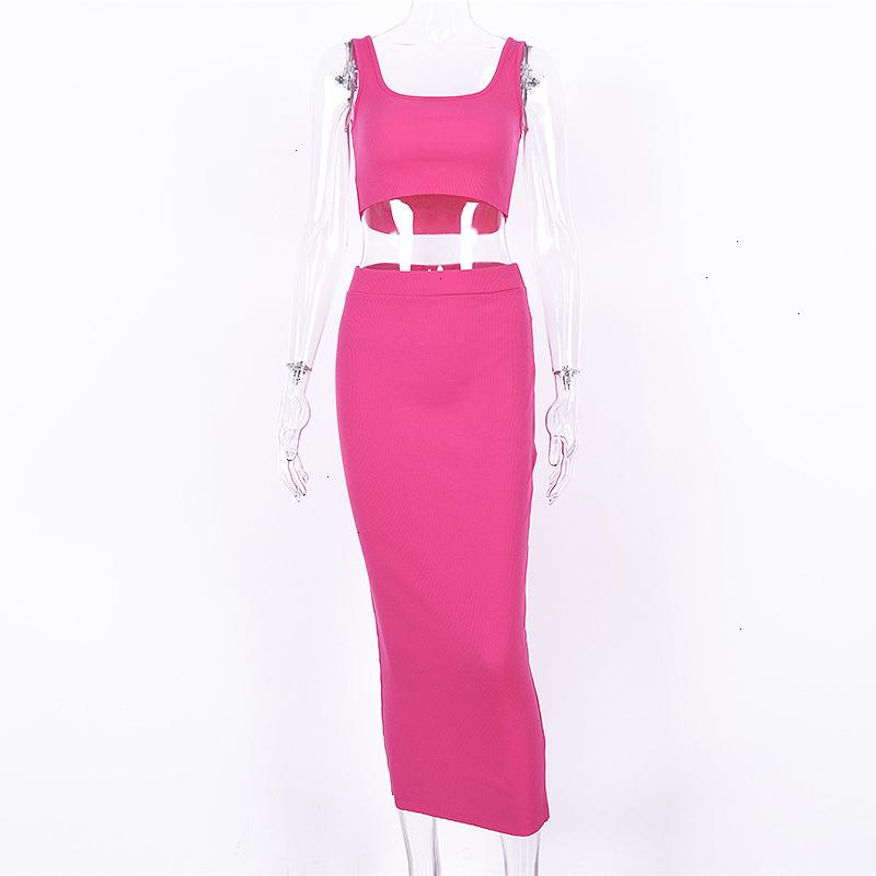Forefair Two Piece Dress Women Summer Set (7)