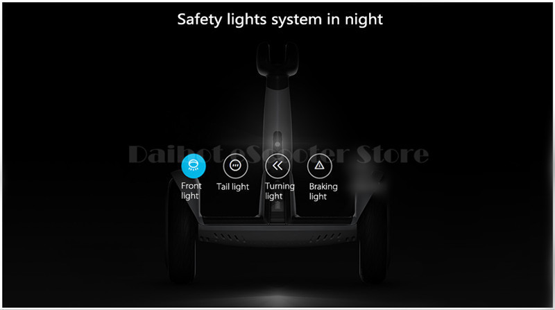 Daibot Electric Scooter Adults Two Wheels Self Balancing Scooters 10 Inch 54V 700W Smart Balance Hoverboard With BluetoothAPP (20)