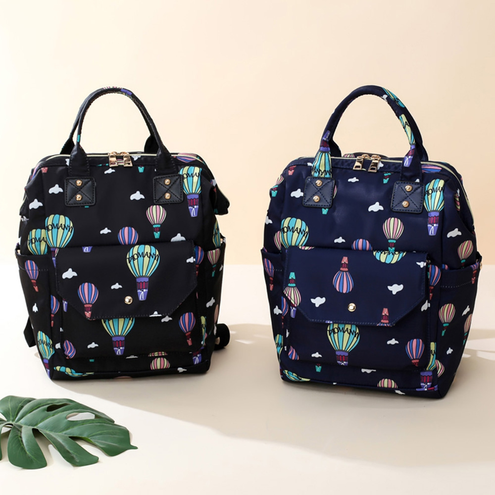 Diaper Bag Cute Pattern Waterproof Large Capacity Mother Women Backpack Fashion Mummy Maternity Nappy Bag For Mother Gift (1)