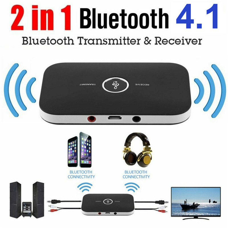 USB Adapter HUB V4.0 Wireless Bluetooth Transmitter A2DP Audio RCA to 3.5mm AUX