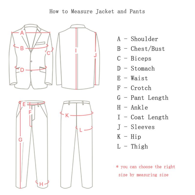 Bridalaffair Black Formal Men Suit Slim Fit Mens Suits Bespoke Groom Tuxedo Blazer for Wedding Prom Jacket Pants with Vest C19011401