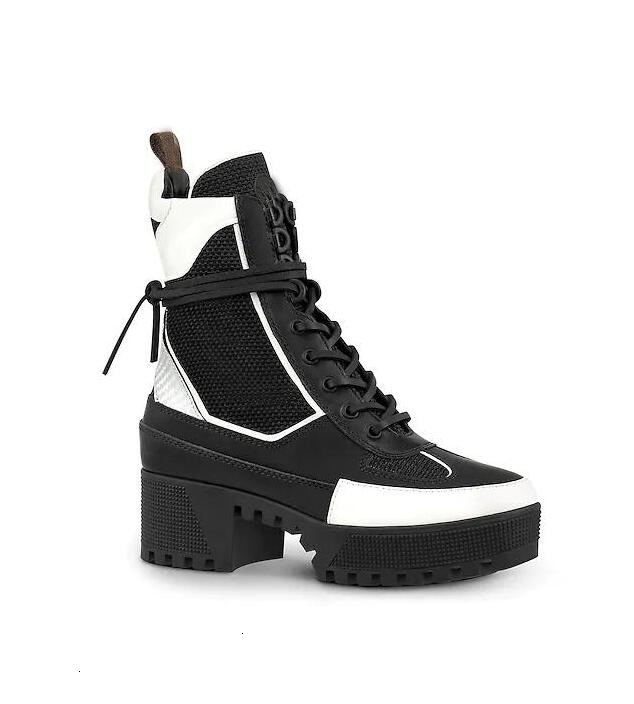 winter new short boots with high-heeled Martin boots leather platform thick-soled locomotive boots women s Combat box