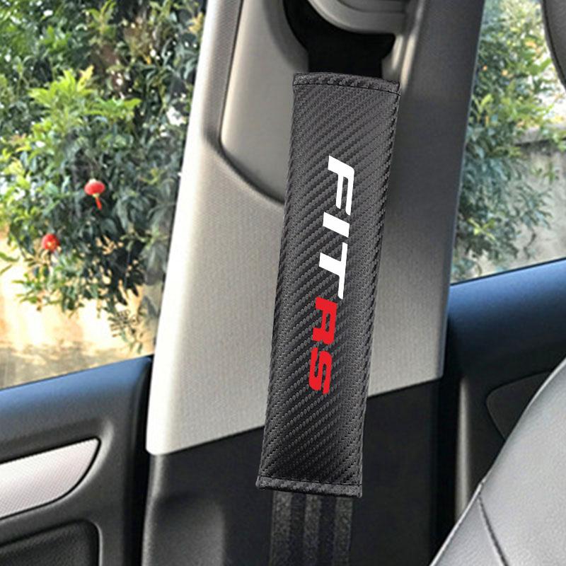2Pack Car Carbon Fibre Seat Belt Shoulder Cover Pads,Comfortable Travel mat car seat Belt Cover for Dodge Challenger All Models,Car seat Belt Shoulder Pads