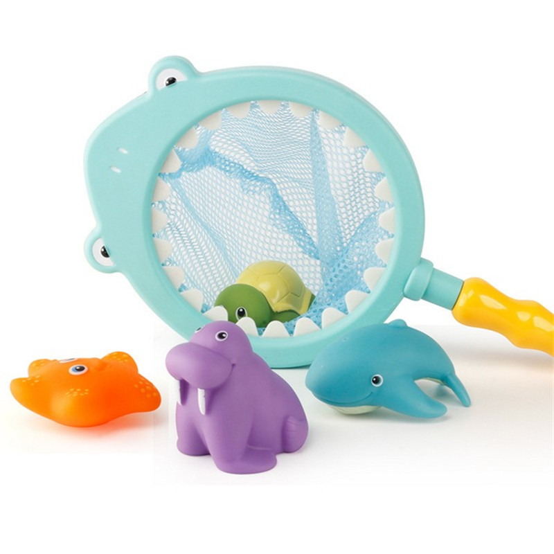 5 шт. дети Аква ванна игрушки для детей в ванной детские игрушки воды распыления инструмент животных игрушки душ игры
