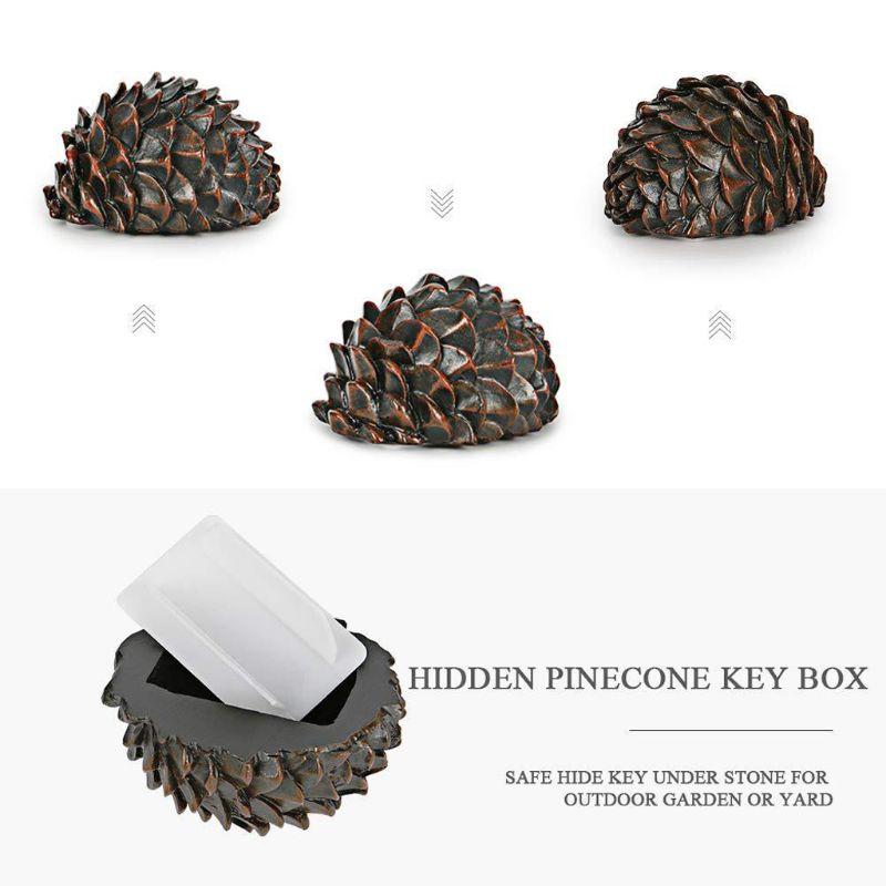 Plastique Clé Boîte De Rangement-Rock Key Holder-Camouflage Outdoor