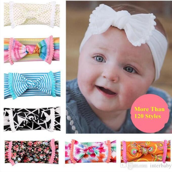 Baby Cotton Twisted Celtic Knot Headband Newborn Girl Toddler Hair Accessory