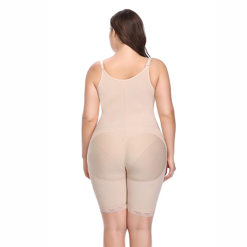 Gris Adelgazante Mujeres Entrenador de cintura Body Shaper Feminino Underbust Body Modelado Correa Mujeres Body Shapewear 6xl Plus Tamaño J190703