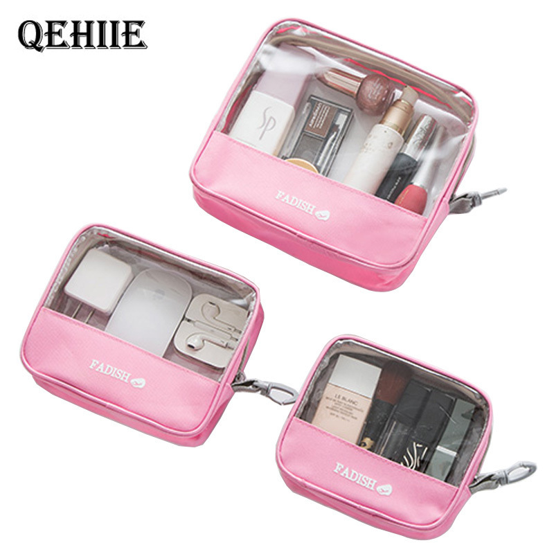 Cosmetic bag Transparent PVC makeup bag Travel Must-have Beautician supplies Organizer Make-up case Case Wash Cosmetic bag