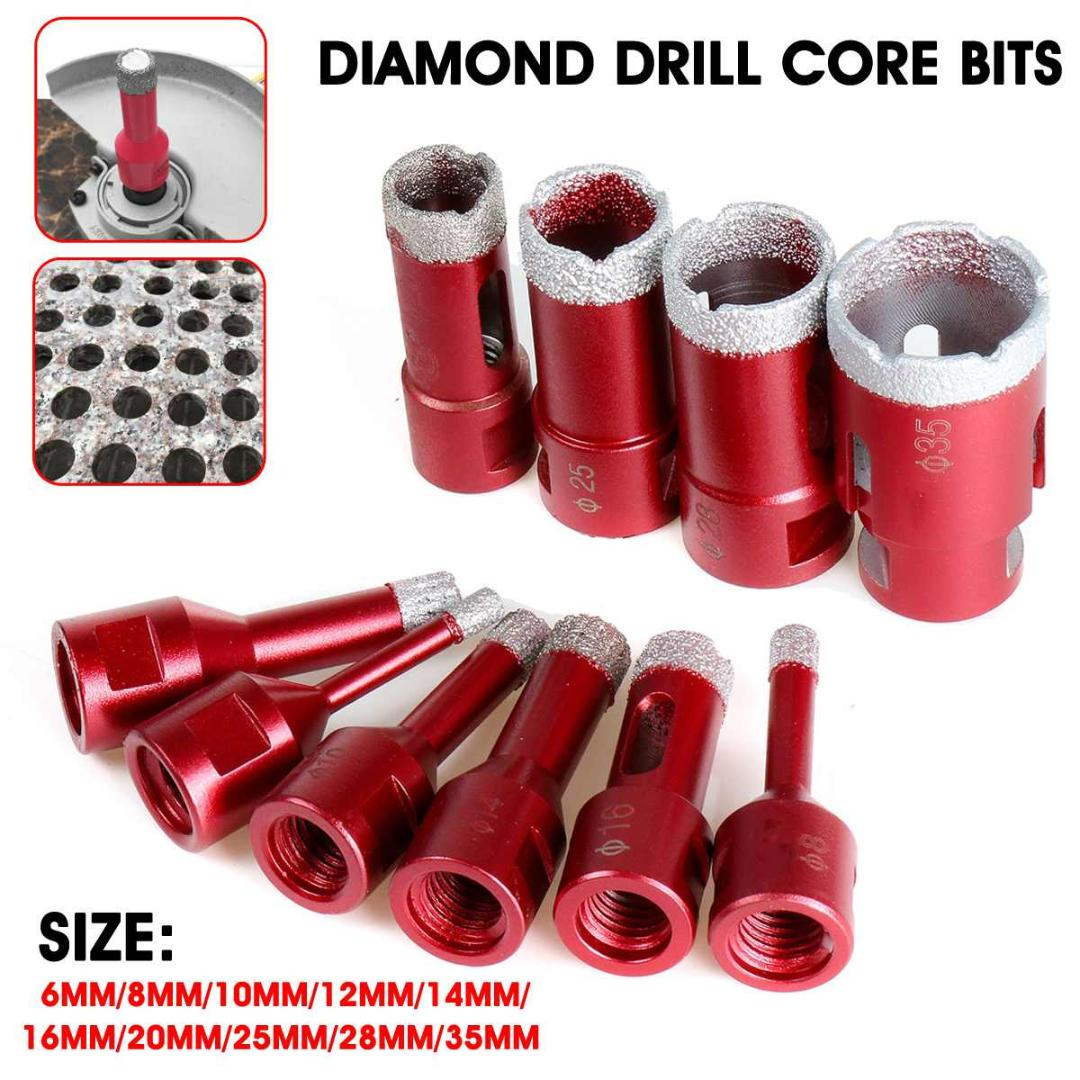 1PC 6MM Marble Opener Diamond Core Bit Hole Saw Drill Bit For Marble Granite