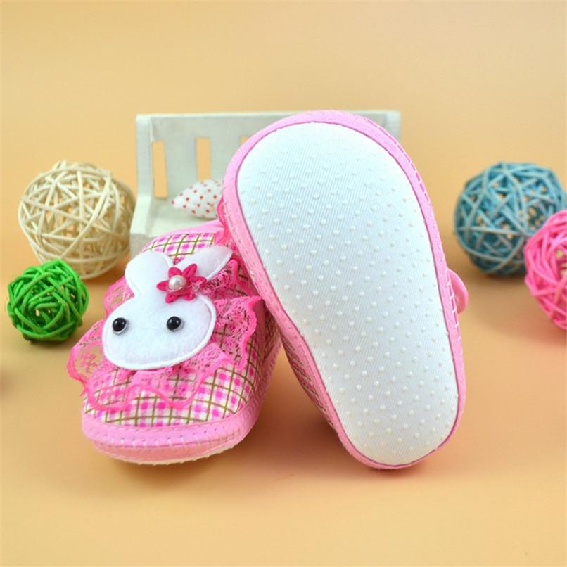 Baby Shoes Newborn Girl Boy Cartoon Rabbit Soft Sole Crib Toddler Shoes Canvas First Walker NDA84L24 (3)