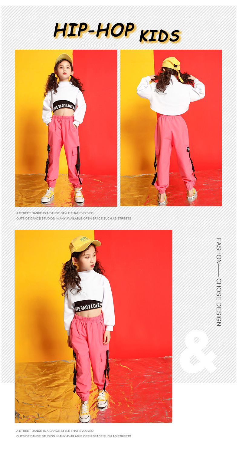 Girls boutique outfits 4 6 8 10 123 14 16 18 Years hip hop hoodies sweatshirts kids costumes girls kids summer clothes (7)