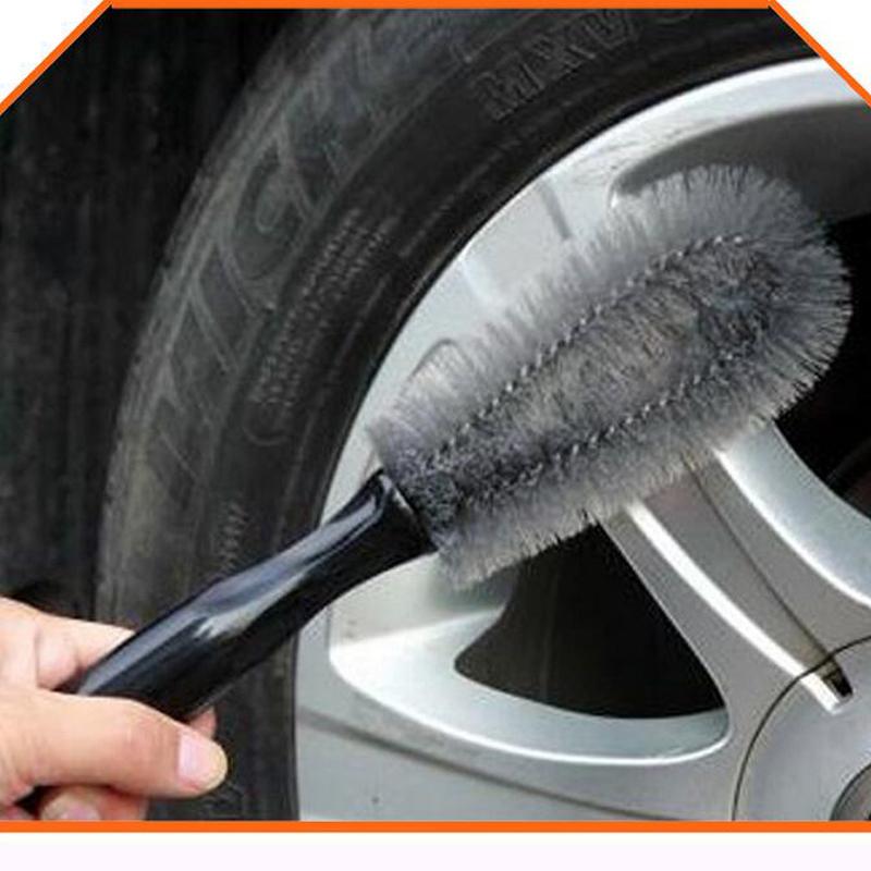UEB Spazzola Lava Ruote Veicolo Spazzola per Pulizia Cerchi e Pneumatici Auto Spazzola per Lavaggio Cerchione Veicolo