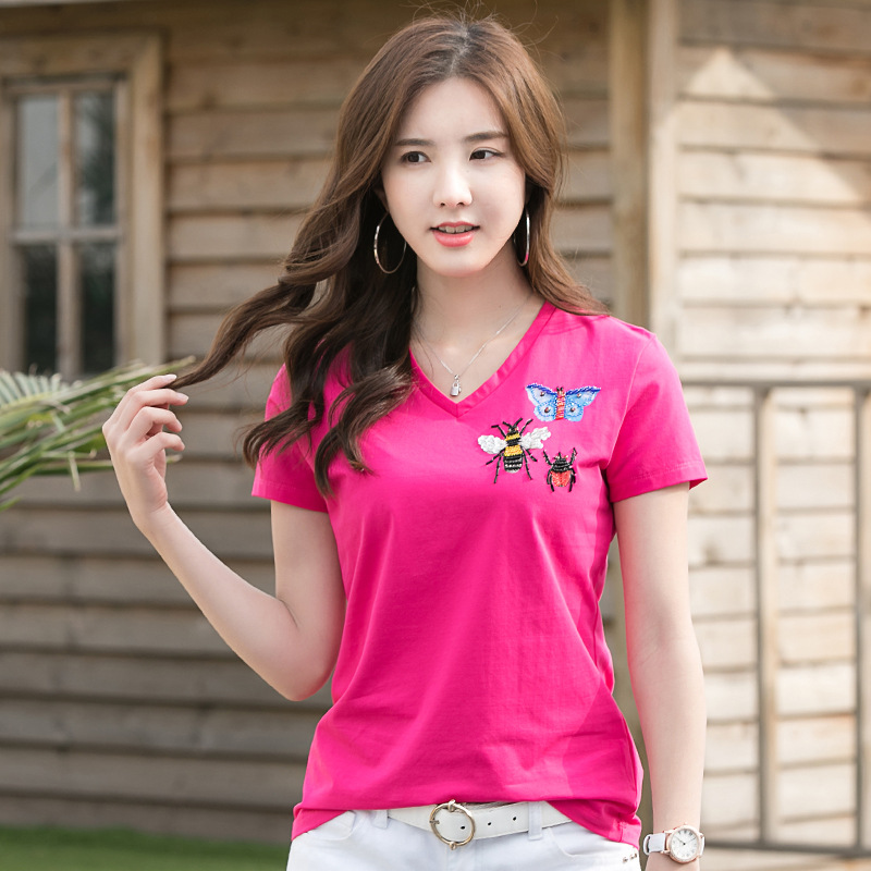 Discount New Ladies T Shirt Designs New Ladies T Shirt Designs 2020 On Sale At Dhgate Com