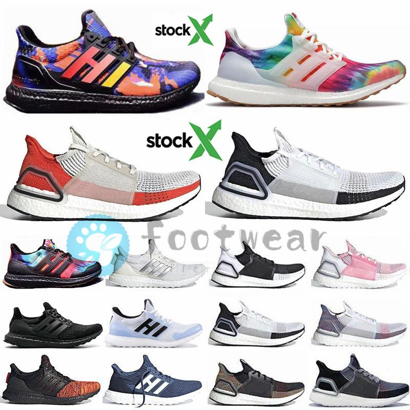 Avec Stock x Ultra Boost 4.0 5.0 ultraboost 19 20 hommes Kicks chaussures de course Woodstock Rainy hommes saison chaussures femmes sport formateurs