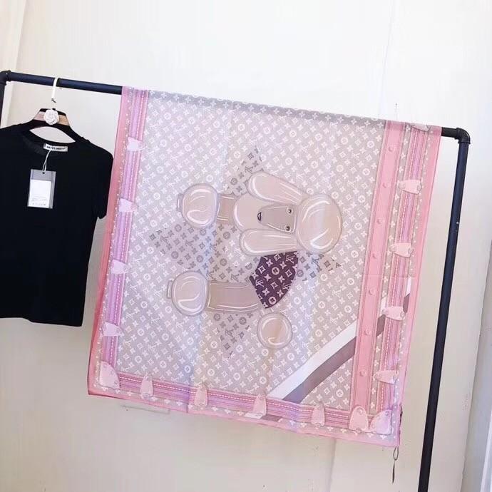 2019 Elegante frauen Seidenschals Kleine Halstuch Original Design Markenqualität Mit Box Größe 180X90 cm G-98091