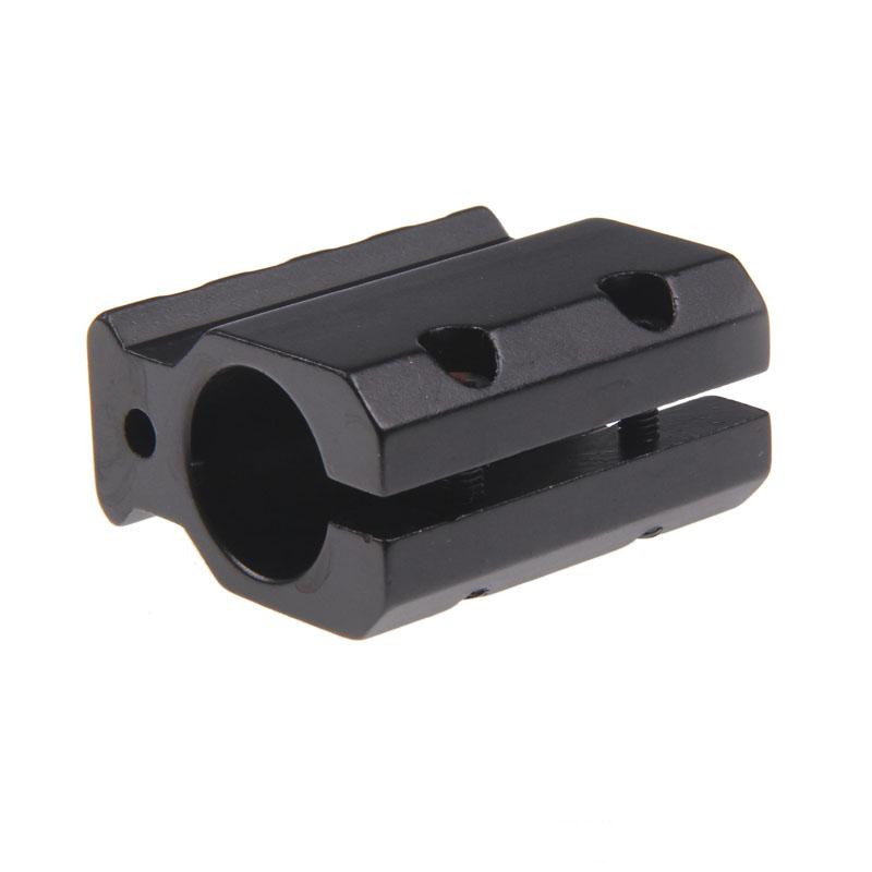 Adjustable Gas Block Single 20mm Picatinny Rail Mounting .223 LR-308 Barrel .750
