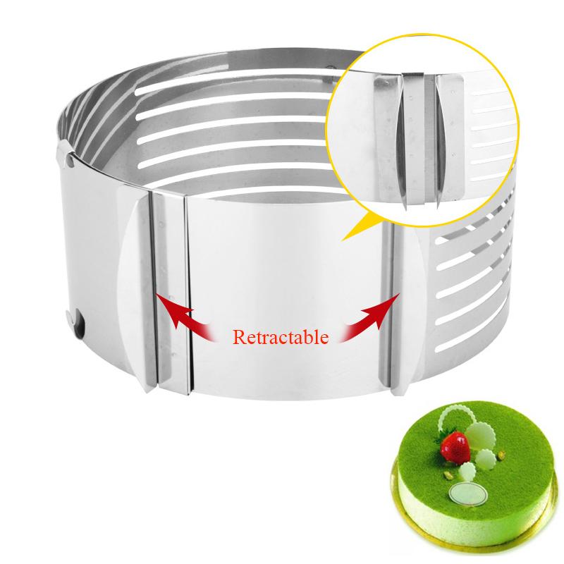 Hoomall-1-Pz-A-Scomparsa-In-Acciaio-Inox-Mousse-Anello-Regolabile-Anello-Torta-Cerchio-Stampo-Strumento