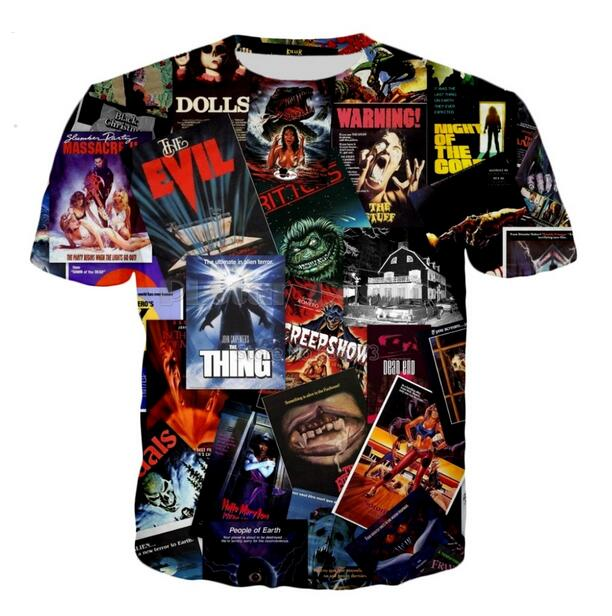Nouvelle scie Film D/'horreur film Icon Homme T-Shirt Noir Taille S-3XL