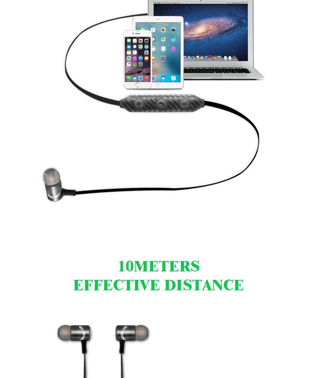 YODELI Bluetooth Earphone With MIC Sweatproof Gym Sport HIFI Wireless Earphones Stereo Headphones For Samsung iPhone Xiaomi LG (5)