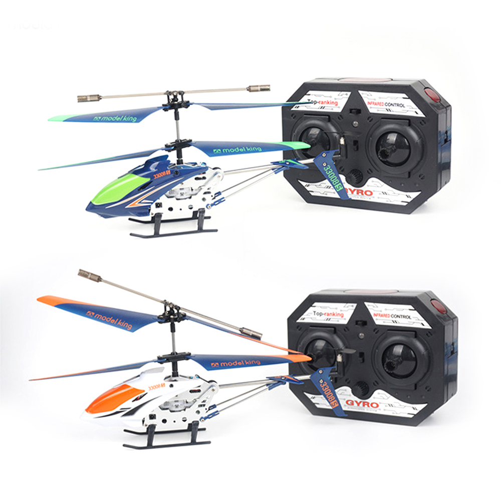 3.5 Channel Remote Control Helicopter with Gyro Radio Remote Control Aircraft Drop-resistant Alloy Small Aviation Model Toy