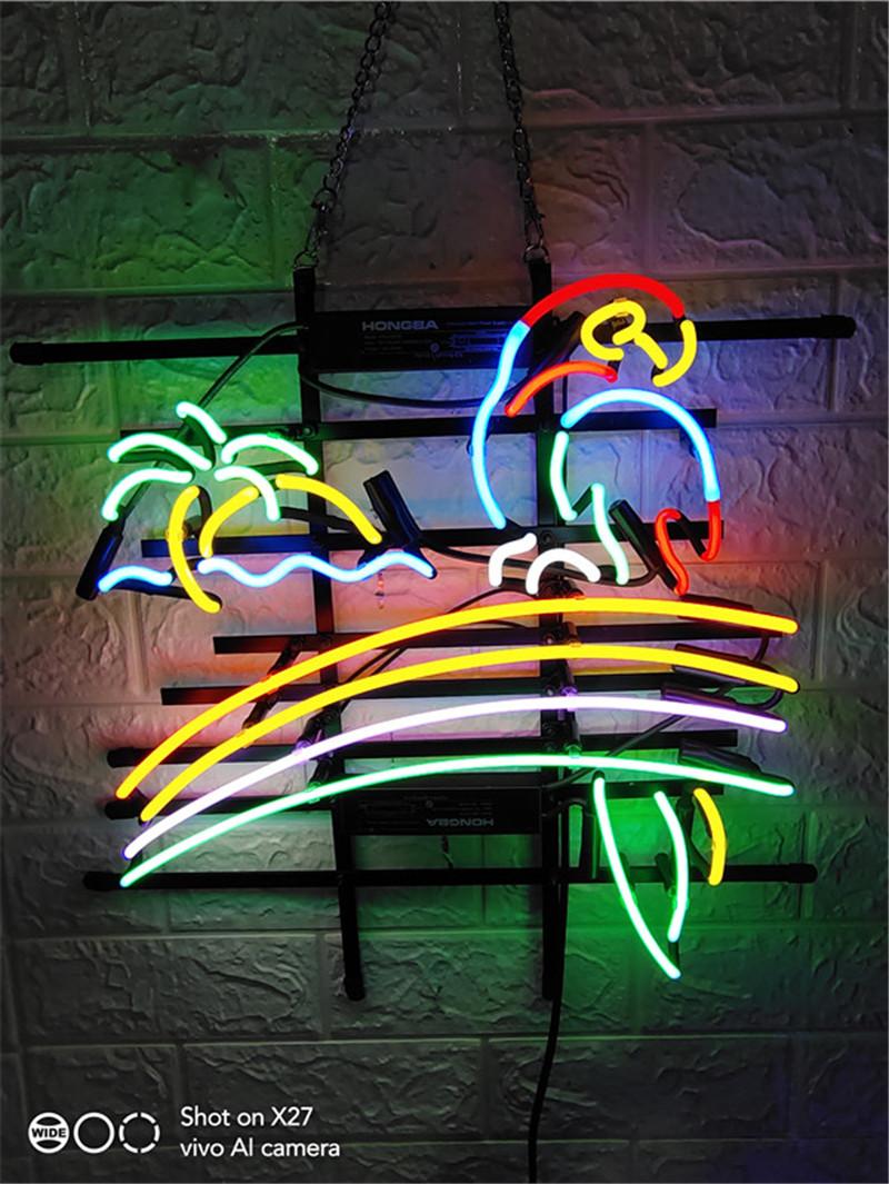 """New Tiki Bar Open Beer Bar Lamp Man Cave Neon Light Sign 20/""""x16/"""""""