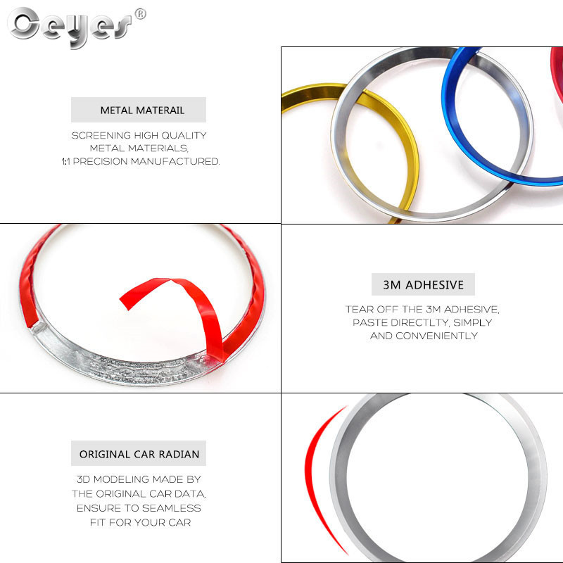 Car steering wheel decoration circle ring sticker for MERCEDES (15)