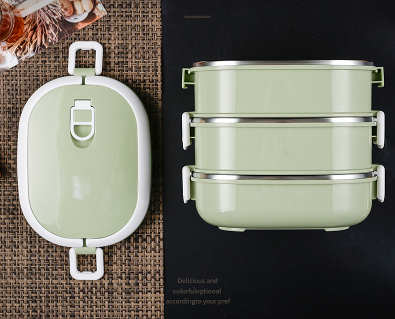304 stainless steel insulated lunch box25